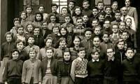 1955 mit Lehrer Hase