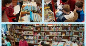 Jahrgang 1 in der Stadtbibliothek