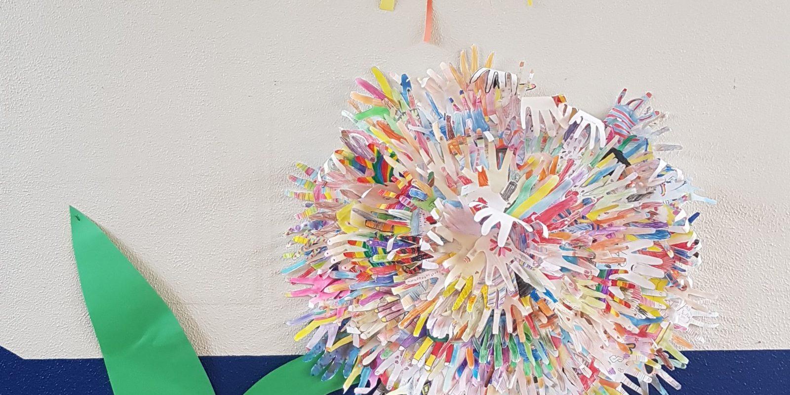 Kreative Gemeinschaftsarbeit der Josefschule